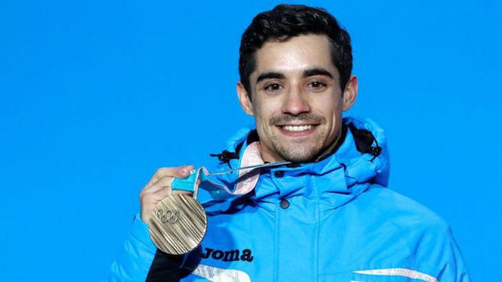 Javier Fernández, medalla de bronce en PyeongChang