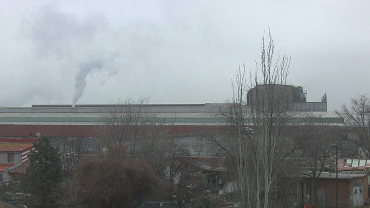 Quejas vecinales por las emisiones y el ruído de una factoria de acero en Getafe