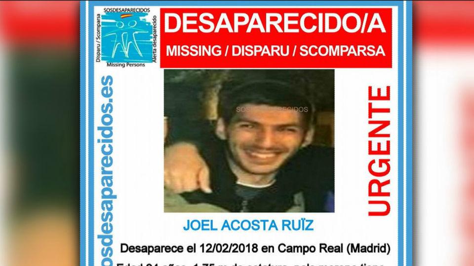 Buscan a un joven de 24 años desaparecido hace cinco días en Campo Real