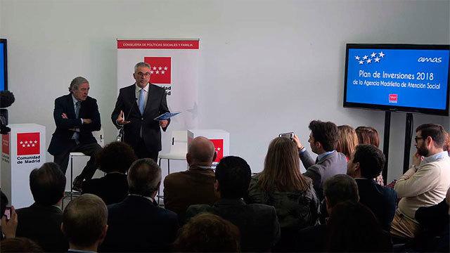 Carlos Izquierdo presenta el plan de Inversiones