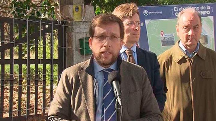 El PP denuncia la degradación de la Casa de Campo y presentará un plan su recuperación