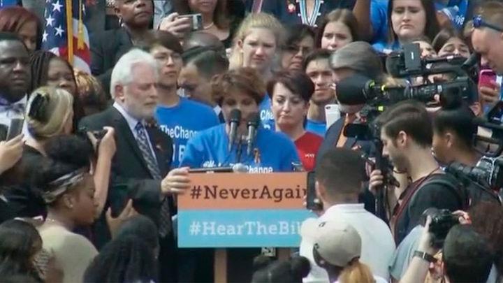 Supervivientes de Parkland llevan al Congreso de Florida su repudio a las armas