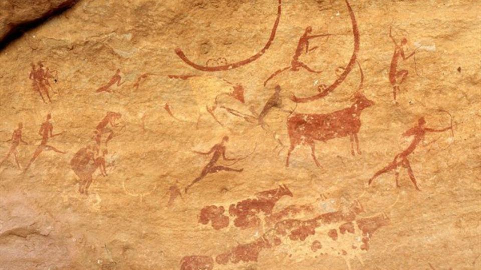 Las pinturas rupestres se vinculan  con el desarrollo del lenguaje