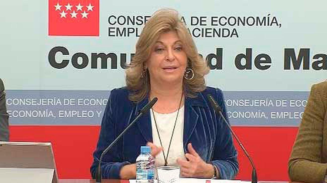 La economía de Madrid creció un 4% entre octubre y diciembre de 2017