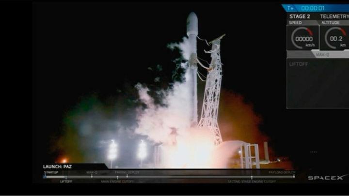 Despega con éxito 'Paz', el primer satélite español de observación de la Tierra