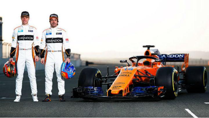 McLaren desvela el MCL33, el nuevo monoplaza de Alonso