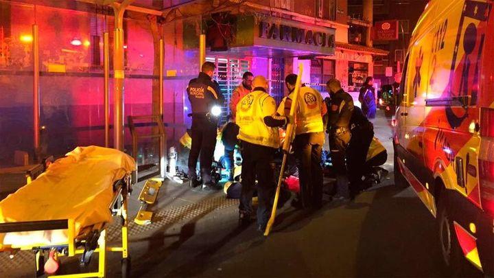 Dos heridos por arma blanca en Carabanchel tras una reyerta
