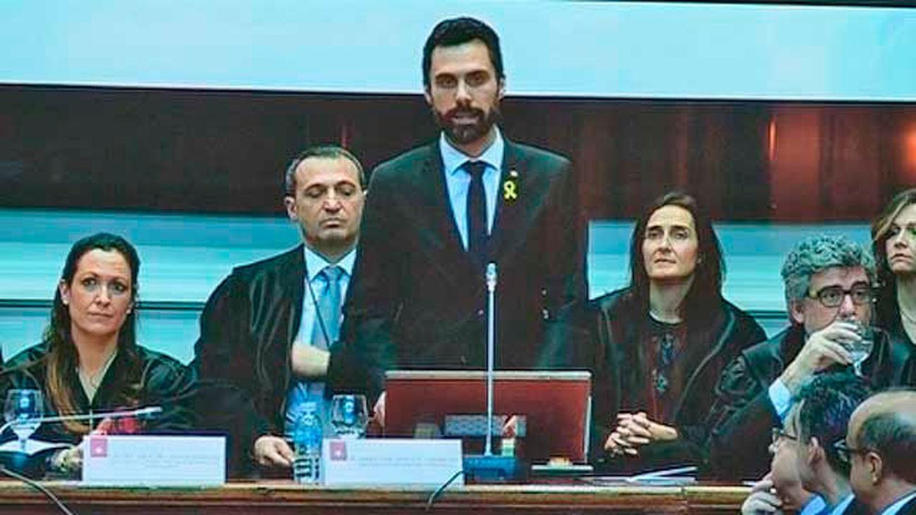 Un discurso de Torrent motiva el abandono de la sala del presidente del TJSC y del fiscal de Cataluña