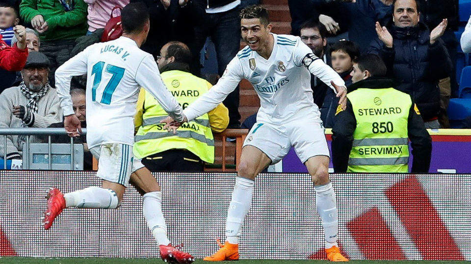 La BBC da un triunfo cómodo al Real Madrid (4-0)