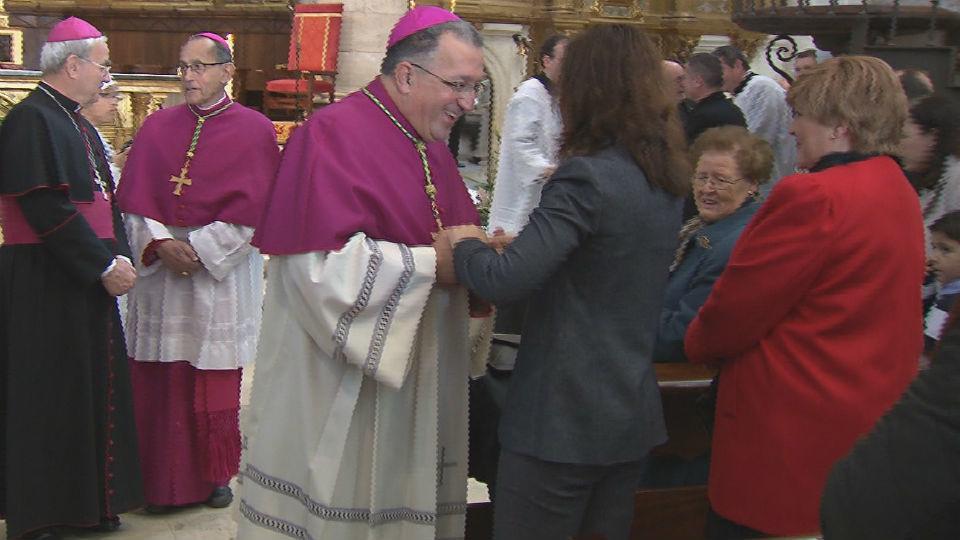 Ginés García Beltrán toma posición de su  cátedra y se convierte en nuevo obispo de Getafe
