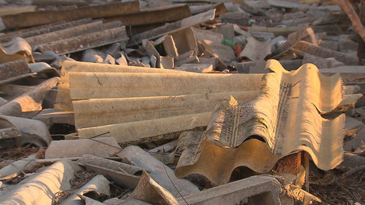 Algete acometerá la limpieza de unos terrenos municipales llenos de amianto