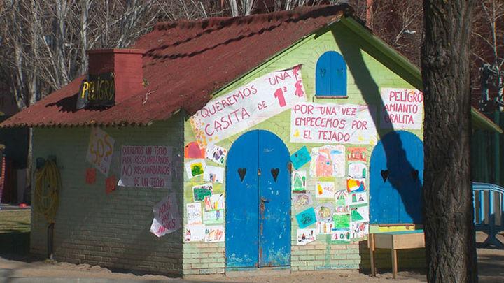 Amianto en una escuela infantil de Leganés