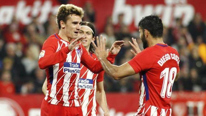 2-5. El Atlético destroza al Sevilla