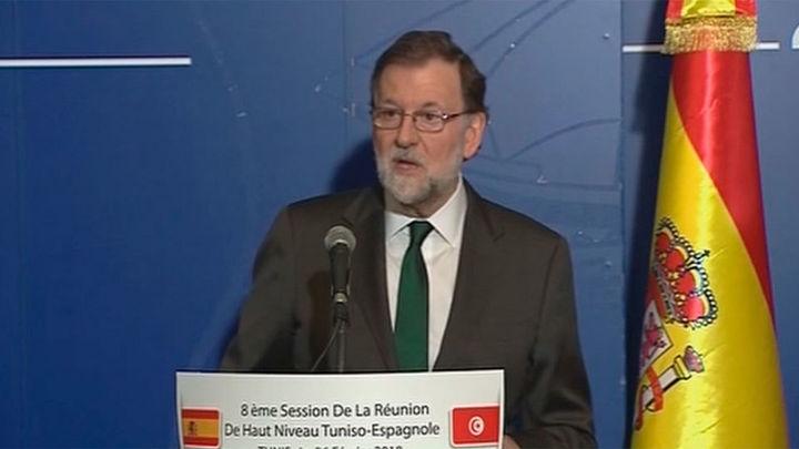 """Rajoy elogia el Mobile World y critica a Torrent y Colau por su afán de """"hacerse notar"""""""