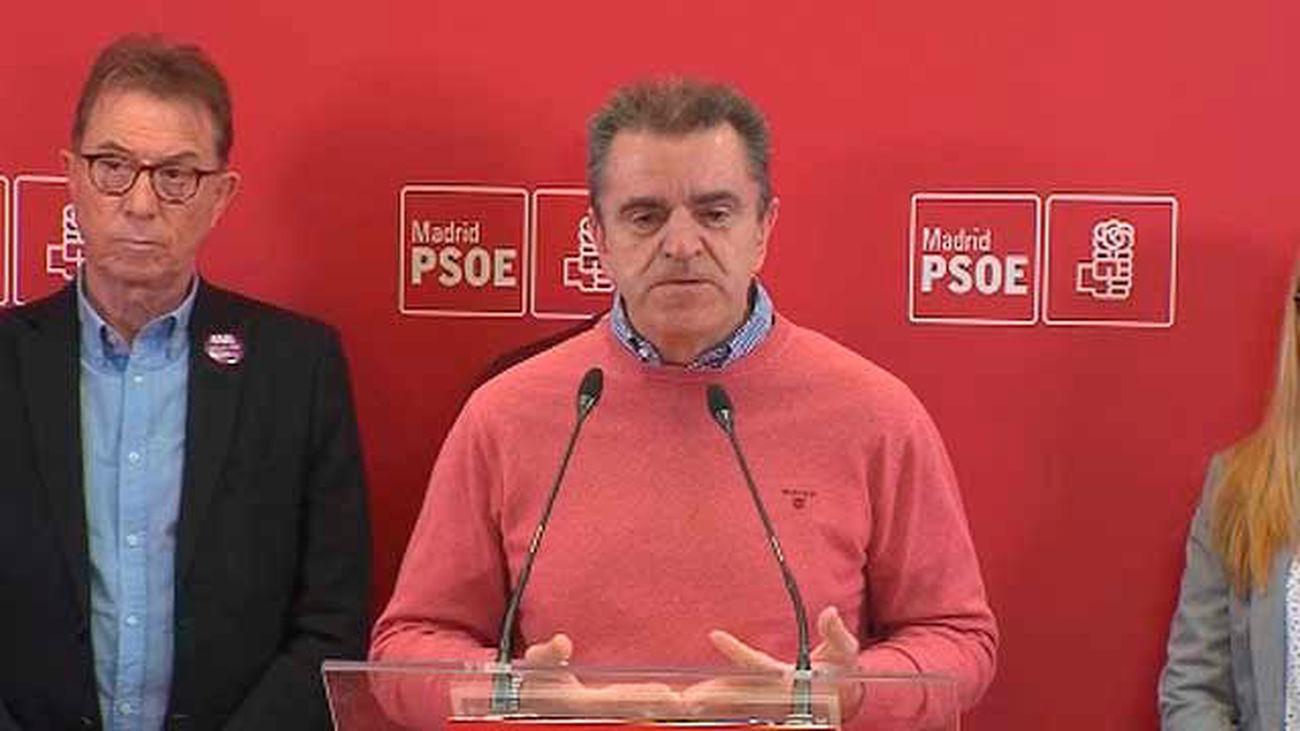 PSOE y sindicatos piden a los hombres apoyo a las mujeres el 8 de marzo