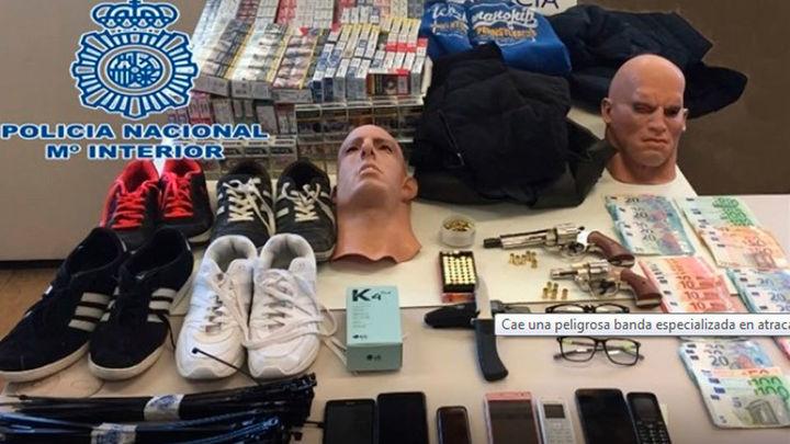 Detenidos en Madrid tres peligrosos atracadores, dos de ellos fugados