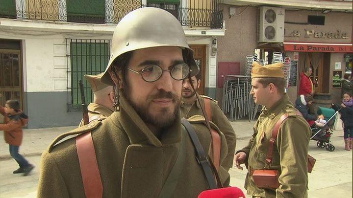 Morata de Tajuña recrea un museo viviente para dar a conocer la Batalla del Jarama