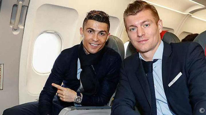 El Real Madrid, rumbo a París
