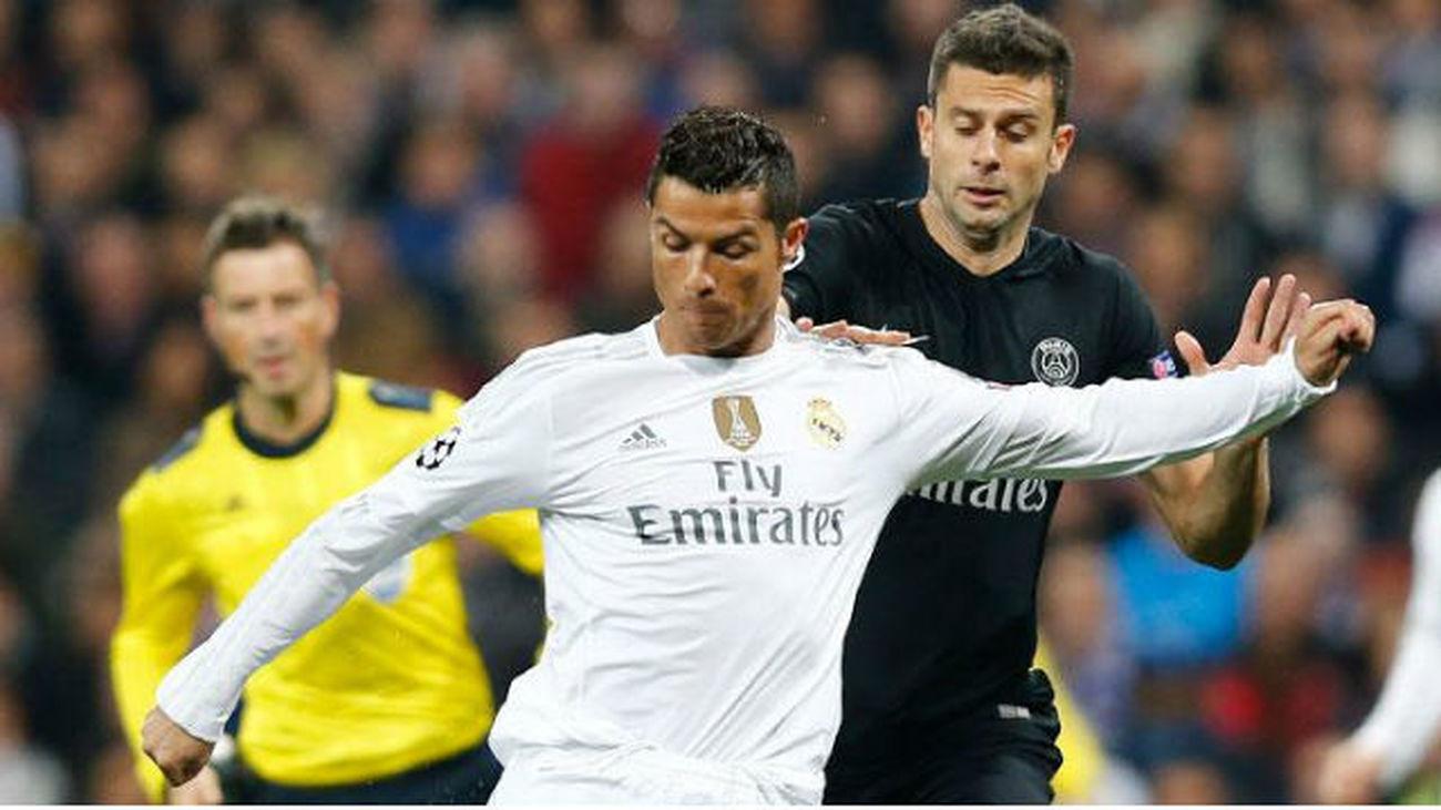 Los jugadores del PSG caliente la vuelta contra el Madrid