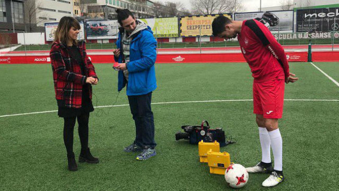 """Toni Arranz: """"Mi sueño es que mis padres me vean en el fútbol profesional"""""""