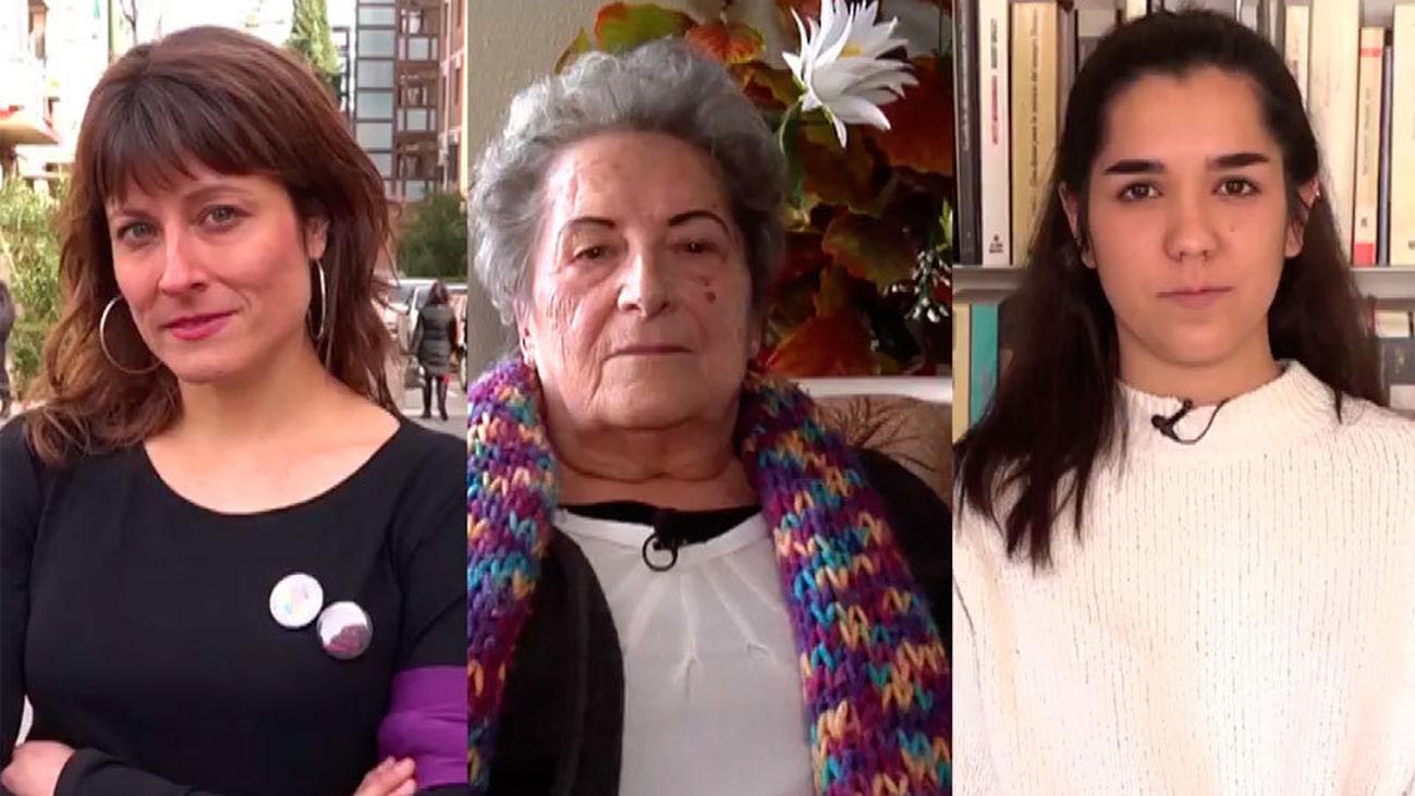 Tres generaciones de mujeres, tres puntos de vista sobre la vida