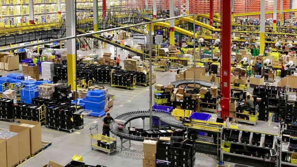 El centro logístico de Amazon en San Fernando de Henares es el mayor de España y uno de los más grandes del mundo