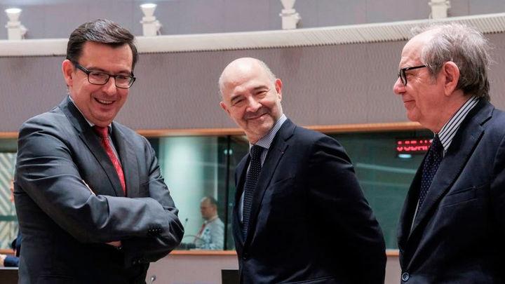 Escolano se estrena en Bruselas como ministro de Economía