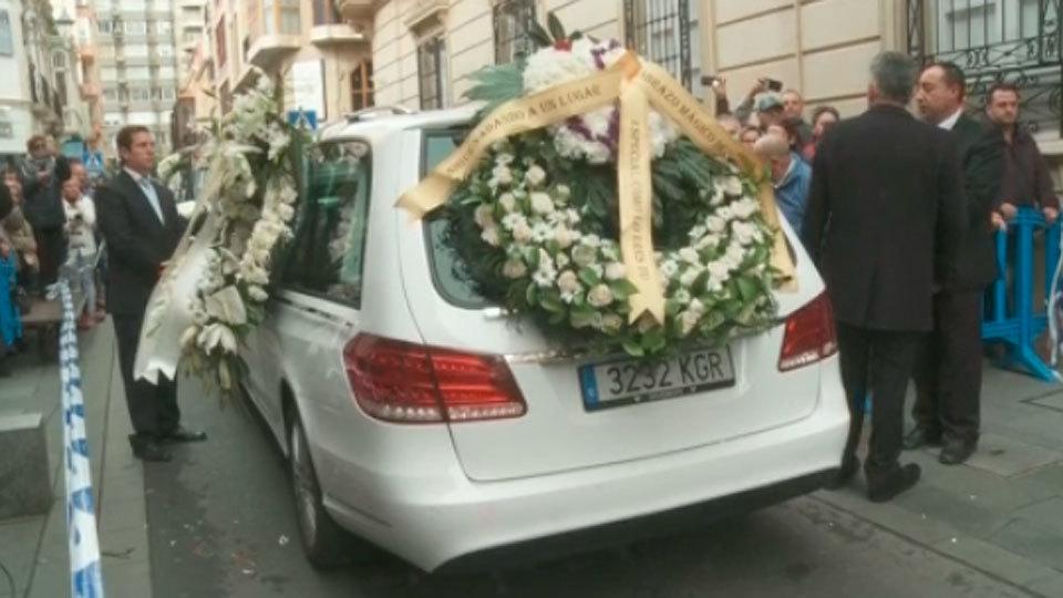 Funeral por el niño asesinado Gabriel Cruz en la catedral de Almería oficiado por el obispo