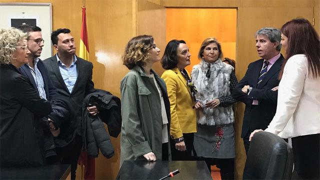 Angel Garrido en elos Juzgados de Aranjuez