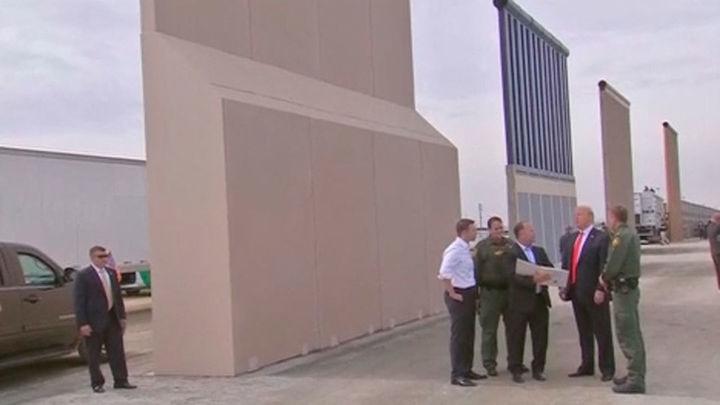 """Trump quiere un muro con México """"lo más grande posible"""" y que permita ver el otro lado"""