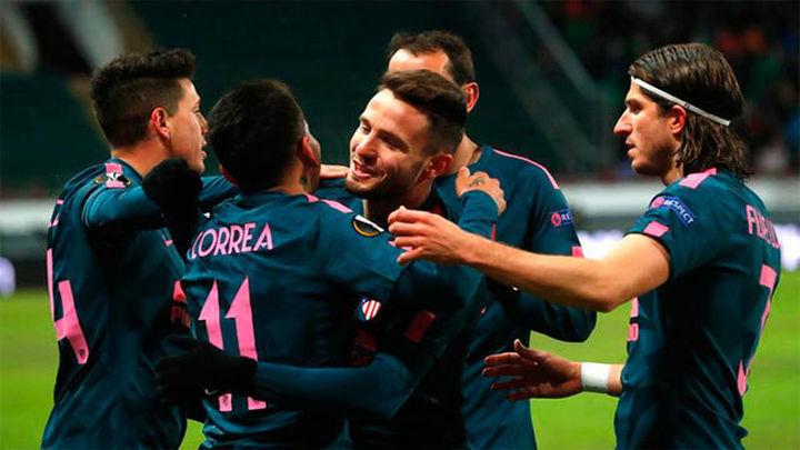 1-5. El Atlético se mete en cuartos tras pasearse en Moscú