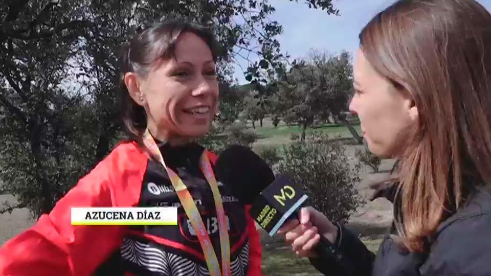 Hablamos con Azucena Díaz campeona de bronce de Cross