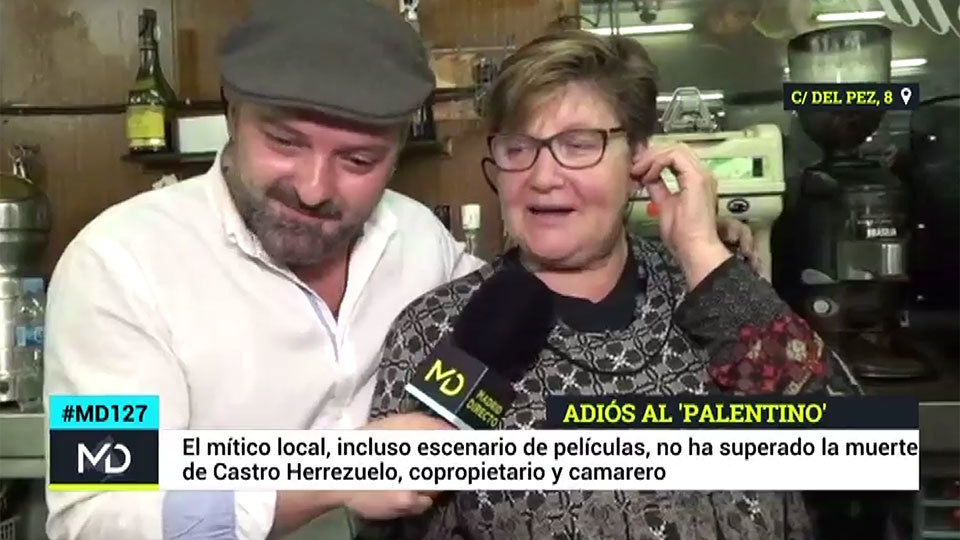 Madrid Directo en la despedida de El Palentino