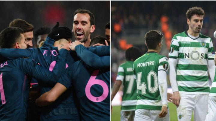 Atlético Madrid-Sporting de Portugal, en cuartos de la Europa League