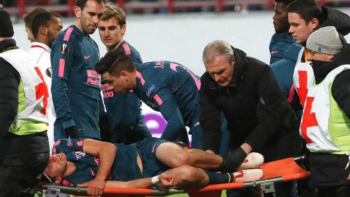 Filipe Luis, adiós a la temporada, se fractura el peroné