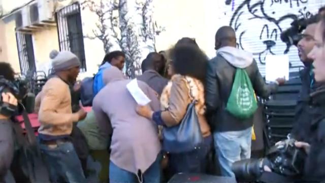 Graves disturbios en Lavapiés