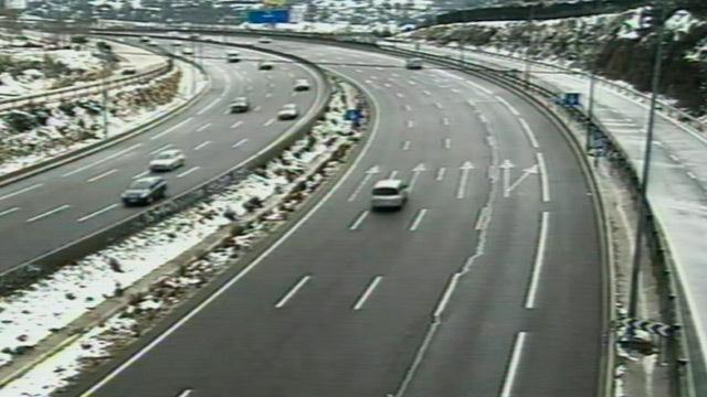 Imágenes de carreteras desde la DGT