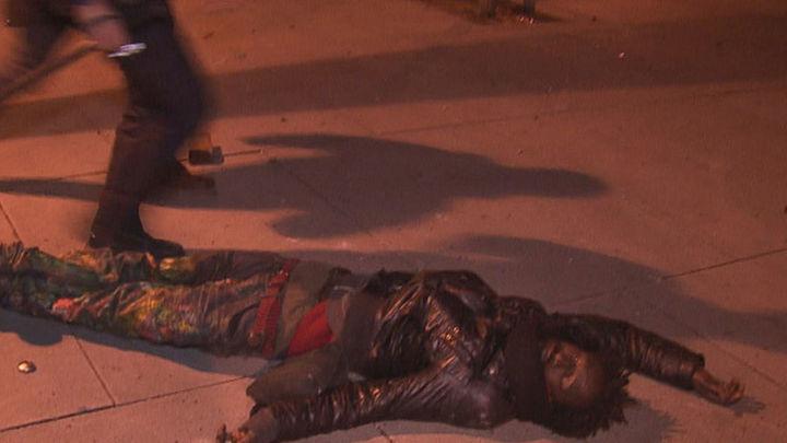 Recibe el alta un manifestante herido el jueves en los disturbios de Lavapiés