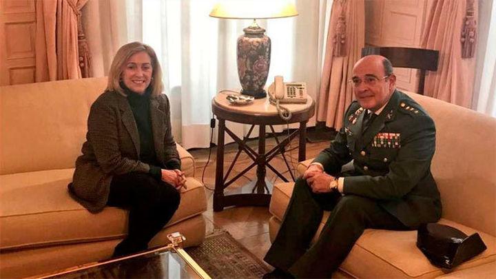 El coronel Diego Pérez de los Cobos se hace cargo de la Comandancia de la Guardia Civil de Madrid