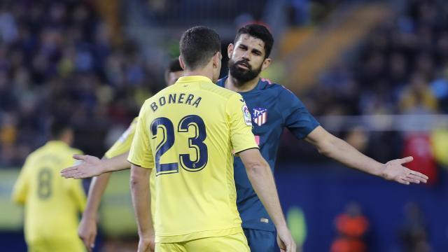 Diego Costa ante el Villarreal
