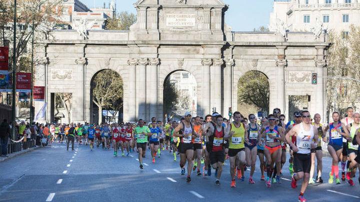 Estos son los cortes de tráfico con motivo del Maratón de Madrid