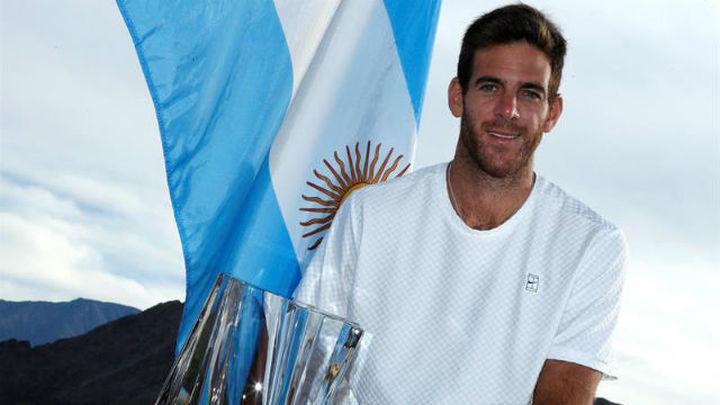 Del Potro, campeón en Indian Wells
