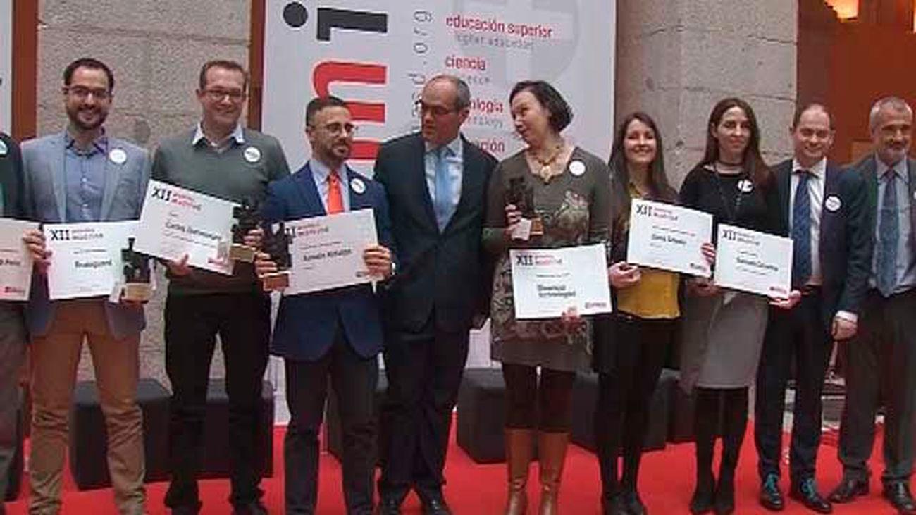 Madrid reconoce a los 7 mejores trabajos de ciencia y tecnología