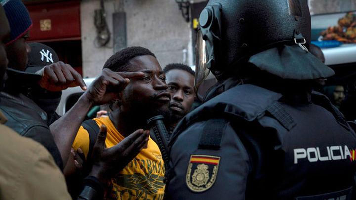 En libertad los cinco detenidos por los disturbios  en Lavapiés