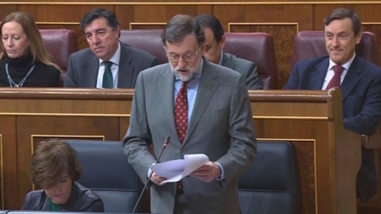"""Rajoy pide a los independentistas un candidato """"limpio"""""""