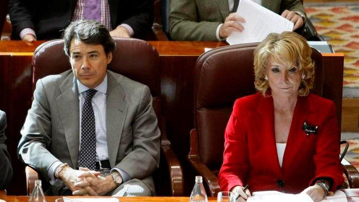 González y Aguirre comparecen en la Asamblea por el campo de golf del Canal