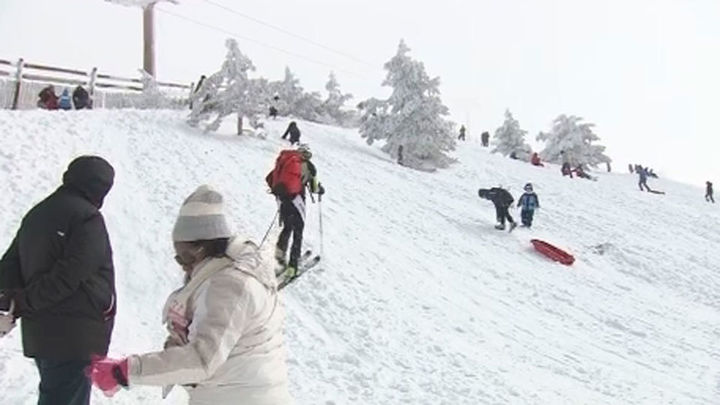 Valdesquí y Navacerrada cuentan con la mejor nieve de la temporada