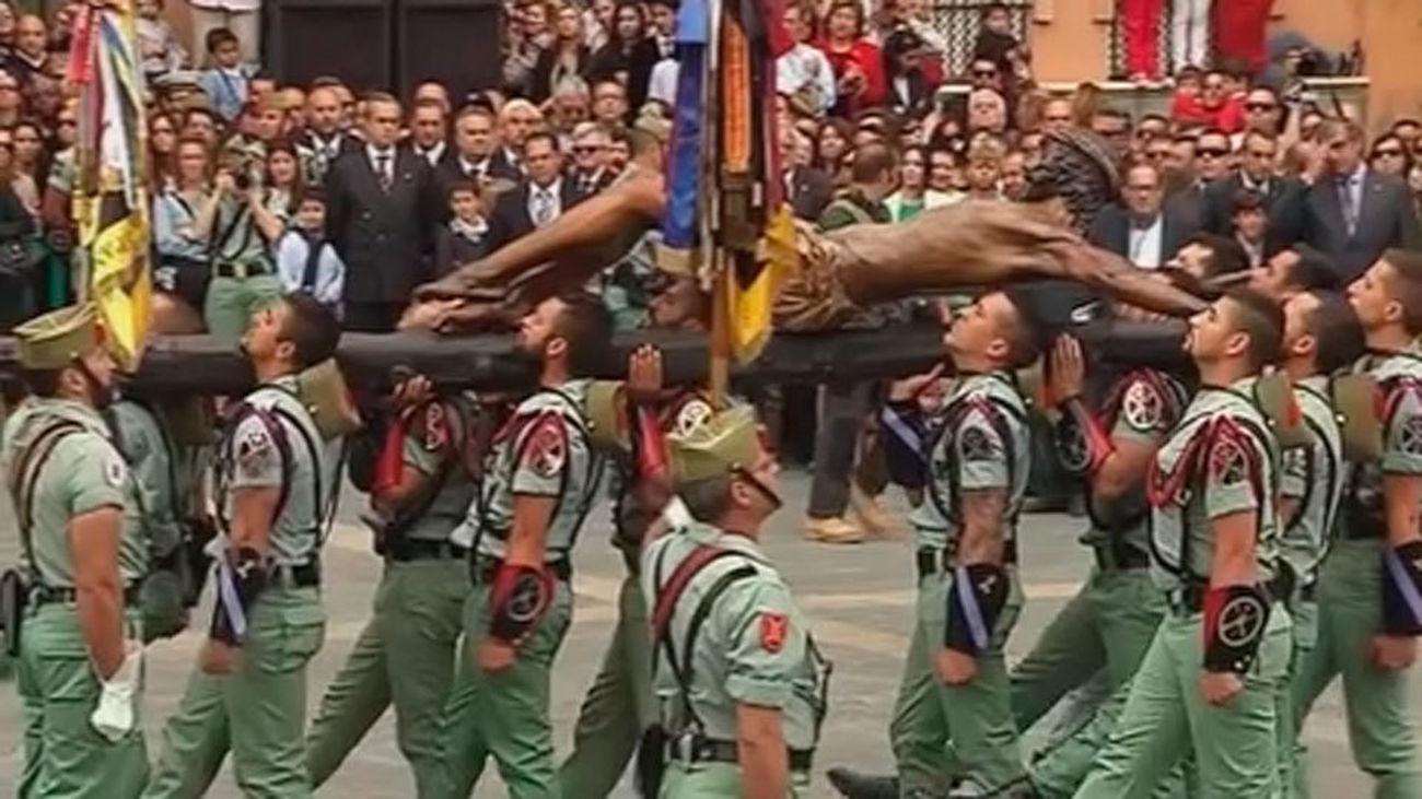 Los militares participan en más de 200 actos religiosos y culturales de Semana Santa