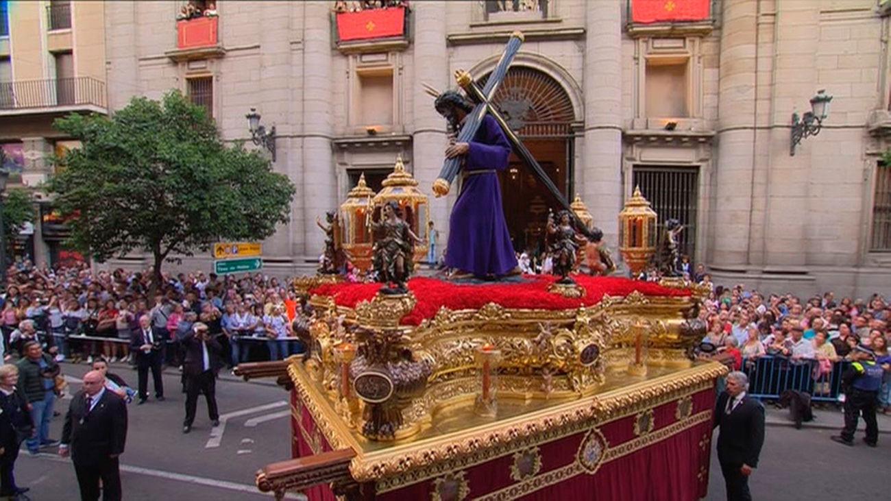 Semana Santa 2018: Tres procesiones recorren el centro de Madrid este Jueves Santo