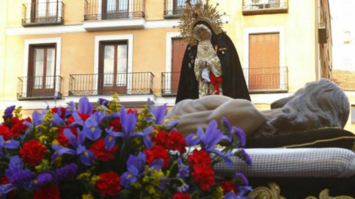 La Procesión de la Soledad, acto central del Sábado Santo madrileño